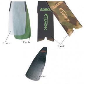 Apnea - Ανταλλακτική λεπίδα πτερυγίων Clear