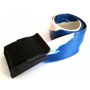 KMdive - Ζώνη βαρών Super Latex με πλαστική πόρπη 3mm