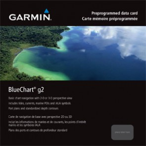 GARMIN - Χάρτες BlueChart G2