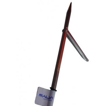 Salvi - Βέργα ταϊτής μονόφτερη με εγκοπές 6,5mm