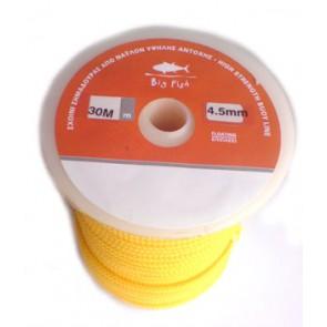 BigFish - Κίτρινο Σκοινί για πλωτήρες 4,5mm