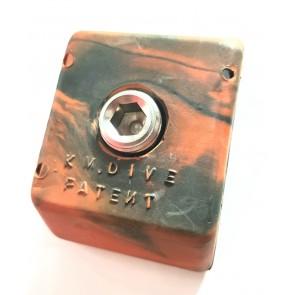KMdive - Βάρος συρόμενο ζώνης 0,8kg Έγχρωμο