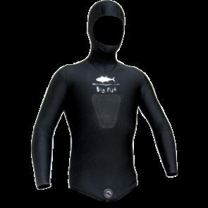 BigFish - Σακάκι Μαύρο 5,5mm Φόδρα - Ξυρισμένο