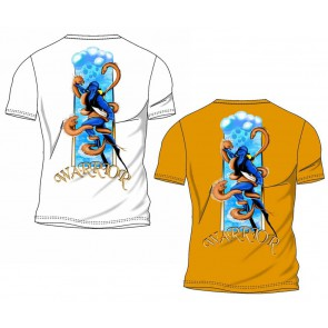 Blue Hunter - Tshirt Scuba Warrior 7021