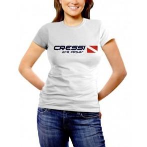 CressiSub - Γυναικείο T-shirt Dive center