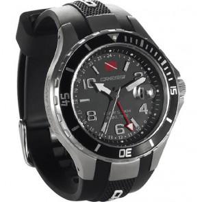 Cressi -  Traveller Dual Time Ρολόι Μαύρο