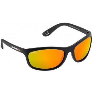 CressiSub - Επιπλέοντα Γυαλιά Rocker BLACK MIRRORED LENS Orange