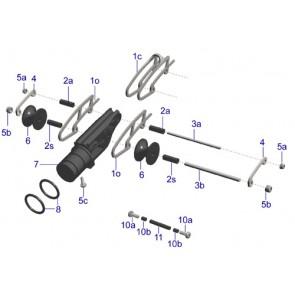 Apnea - Roller parts