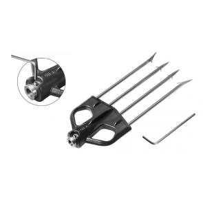 Omer - Multiprong for 8mm shafts Black