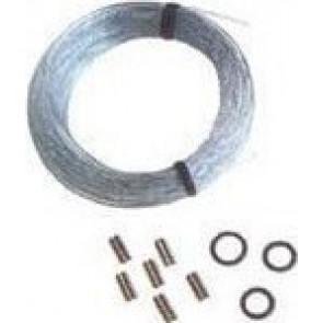BigFish - Set with 15m nylon Line with 8pcs Double Sleeves 5pcs o-rings